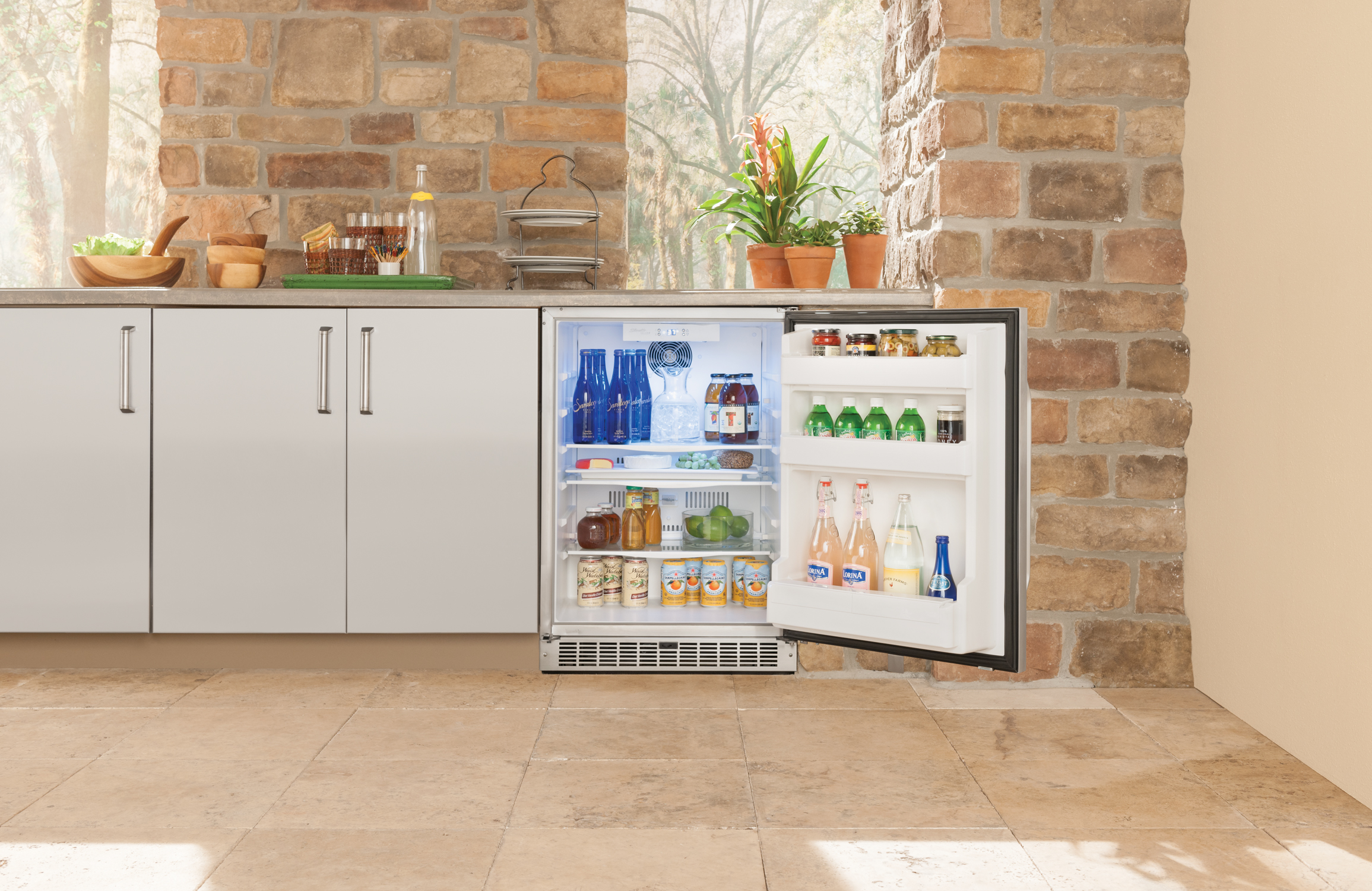 outdoor entertaining with style  u2013 win a silhouette outdoor refrigerator