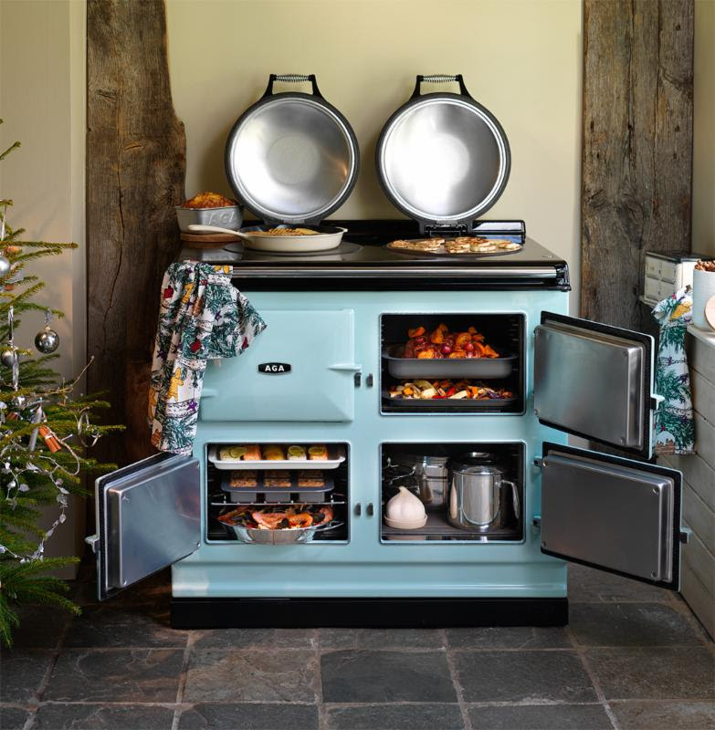 Introducing the next generation of aga cast iron ranges for Modern kitchen design with aga