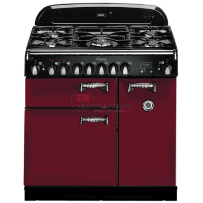 More moderately priced than most 36-inch professional ranges, the Aga Legacy 36 gives serious cooks something new to look at. No other professional range has this much functionality in such a small footprint. The AGA range features 5 sealed burner, 7-mode Multifunction™ programmable oven and programmable convection oven, 2500 watt element with fan.