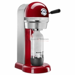KitchenAid sparkling beverage maker. Offering the ideal combination of form and function, these beverage makers perfectly blend KitchenAid's premium all-metal design with SodaStream® proven carbonation technology to allow you to easily make refreshing, homemade carbonated drinks.