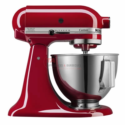 KitchenAid stand mixer with 325-watts of power. This mixer features 10 speeds, dishwasher-safe bowl, power hub and tilt-head.