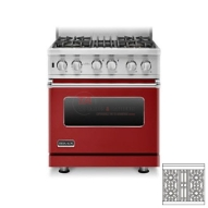 As every cook knows, perfection is a never-ending process. The dual fuel sealed burner range is proof of that. The delicate VariSimmer™ setting, available on all four burners, makes it the most precise sealed burner system available. The redesigned range also offers the largest oven capacity and one of the fastest preheat times on the market. http://www.taappliance.com/en/catalog/product/281193-Brigade%20Professional-CVDSC5304BARLP?searchterm=Red